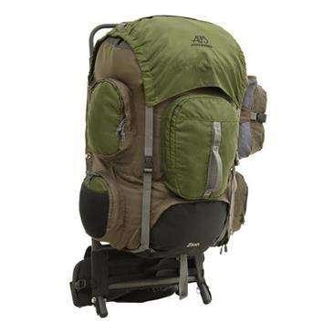 84d278887114 Alps Mountaineering Zion Backpack - Telescoping Frame Mesh Pockets Lower  Door