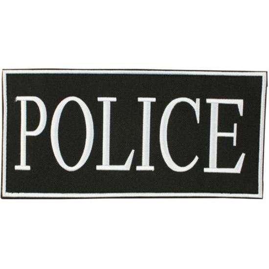patch velcro police