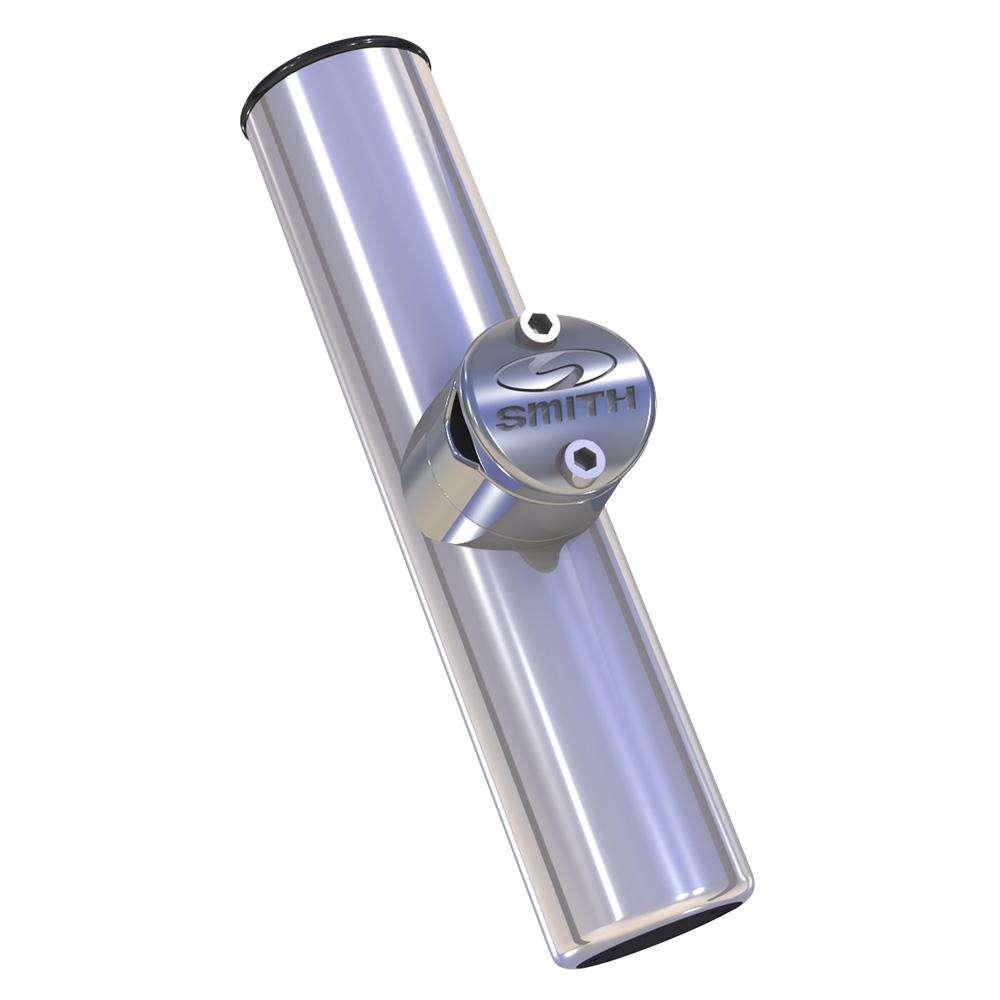53681SA Smith Stainless Steel Flush Mount Rod Holder C.E 15 Degree