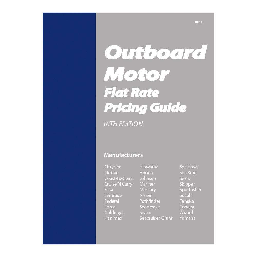 Clymer Outboard Motor Flat Rate Manual - Coveres: Chrysler/Clinton/Eska |  OutdoorShopping.com at OutdoorShopping