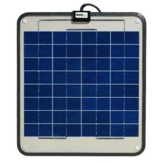 Ganz Eco Energy Semi Flexible Solar Panel 12w Non Glass