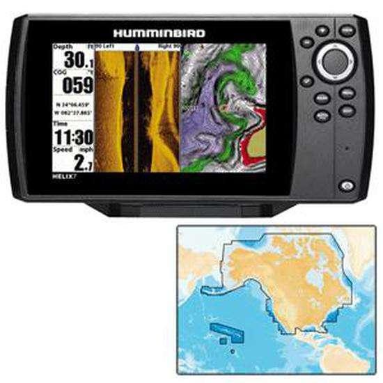 Humminbird Helix 7 Si/Gps Combo With Navionics+ Chart - Unimap Cartography  at www outdoorshopping com