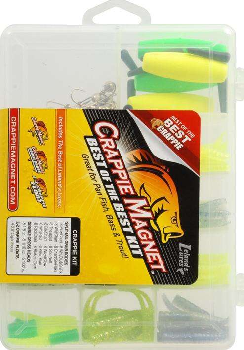 Leland Lures Crappie Magnet Best Of The Best Kit Great For Panfish Bass Trout