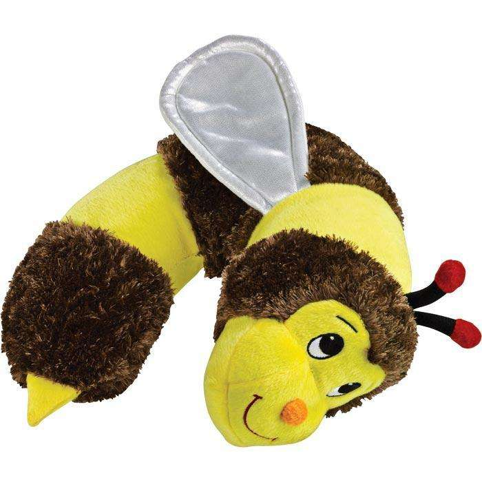 Lewis N Clark Kids Bumblebee Neck Travel Pillow Soft Support
