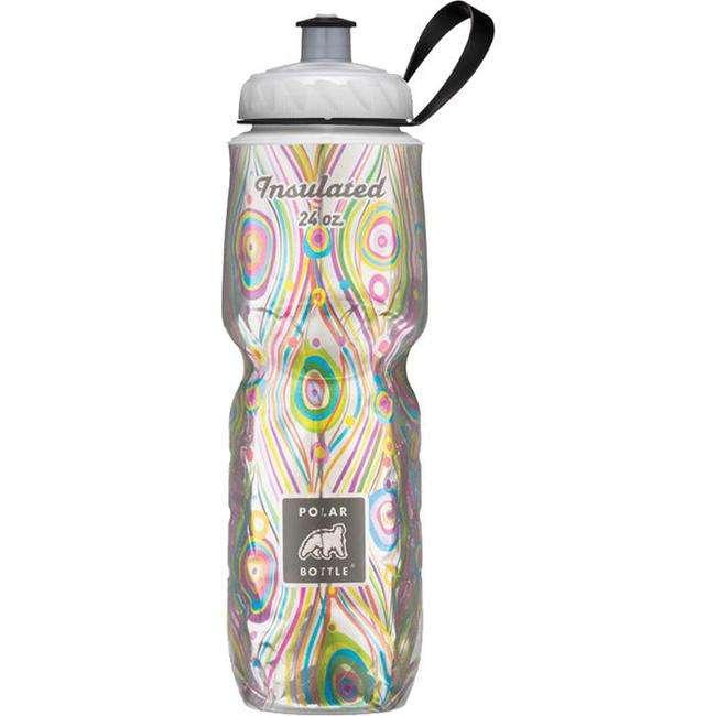Water Bottle Dishwasher Safe: Polar Bottle Peacock Water Bottle 24 Ounce