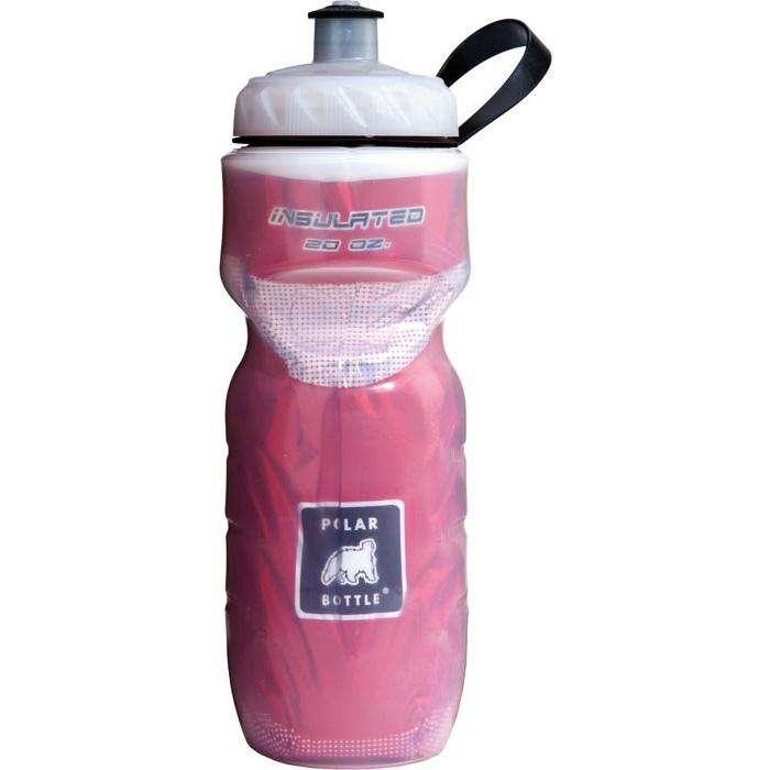 Water Bottle Dishwasher Safe: Red Polar Water Bottle 20 Ounce OZ
