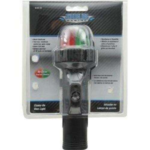 Battery Powered Led Boat Lights: Shoreline Marine LED BI Color Light Clamp On