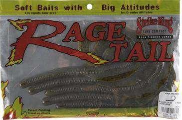 "STRIKE KING Rage Tail 10/"" Rage Anaconda #RGANA10-42 Junebg 2 pks 6//pk;12 ttl"