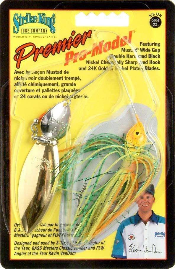 Strike King Lures Premier Pro Model Fishing Spinner Bait at  www outdoorshopping com