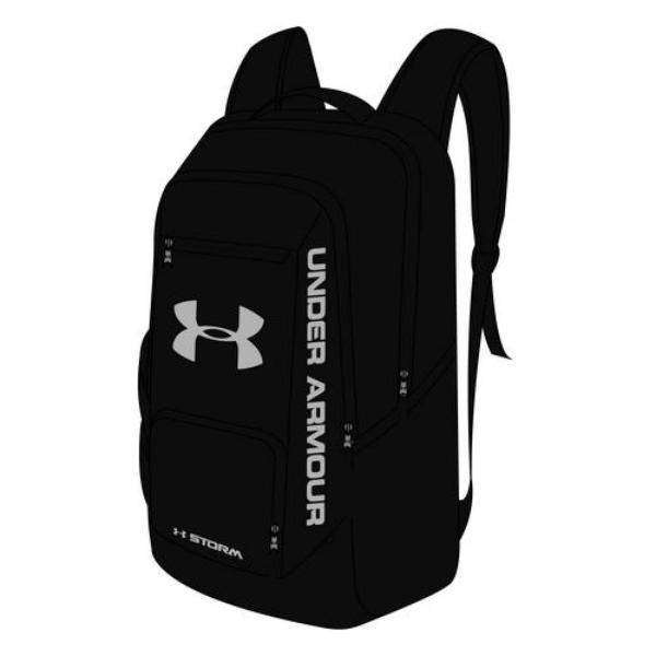 4bf51d8255 Under Armour Ua Hustle Backpack Ii Size  Osfa Color  Black - 1263964001Osfa  at OutdoorShopping