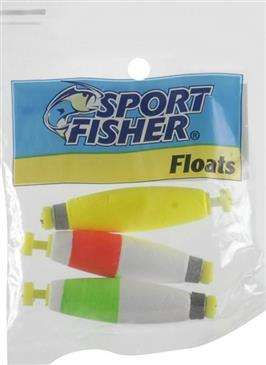 generic 1000 West Inc Sport Fisher Push Button Snap On Round Float 2 Weighted