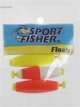 1000 West Inc. 1000 West Inc Sports Fisher Push Button Tublar Float - High Quality