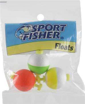 1000 West Inc. 1000 West Sport Fisher Round Push Button Float - High Qualty/Long Lasting