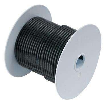 Ancor Black 4/0 Awg Batter Cable - Ancor Marine Grade, Ultra Flexible