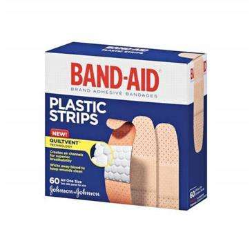 BAND-AID Famliy Pack All One Size 60 Ct - Protection For Everyday Cuts & Scrapes