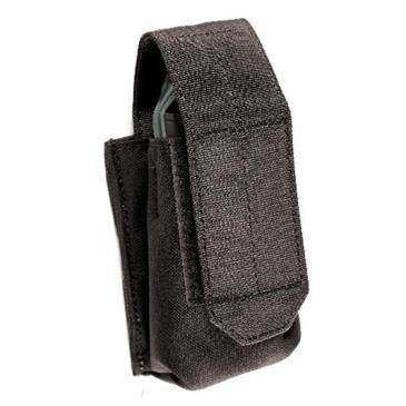 BLACKHAWK! Black Smoke Grenade Single Pouch - Holds 1 Single Smoke Grenade
