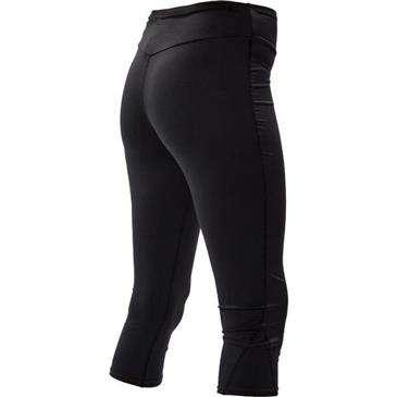 BODY GLOVE Black Fitted Lycra Capri Pant Large - Upf 50+ Uv Protection