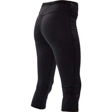 BODY GLOVE Black Fitted Lycra Capri Pant X-Large - Upf 50+ Uv Protection