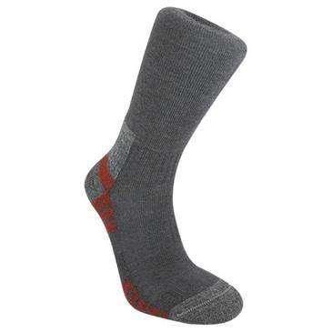 Bridgedale Men's WoolFusion Trail Socks, Gunmetal, Medium - Bridgedale