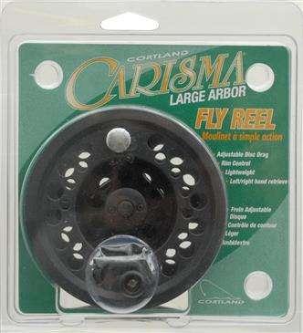 Generic Cortland Line Carisma Fly Reel 8/9 Clam - Graphite Fly Reel/Adjustable Disc Drag