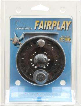 Cortland Line Fairply Reel 456 Clam - Adjustable Click Drag/Graphite Fly Reel