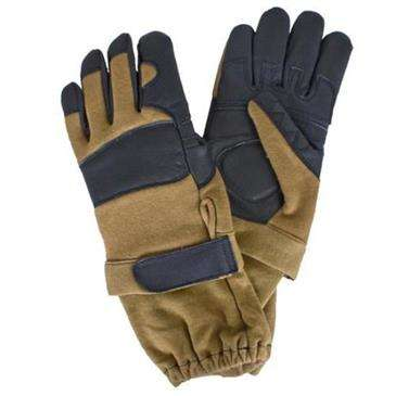 Generic Coyote Brown Generation II Nomex Flight Gloves Large - Hook & Loop Closure
