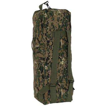 23c79a89f40a Digital Woodland Camouflage Tactical Canvas Backpack Duffle Bag - 22 ...