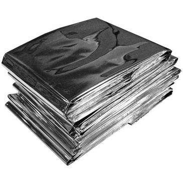 Ultimate Survival Egear Emergency Blanket - Wind & Waterproof Aluminized/Reflects Body Heat