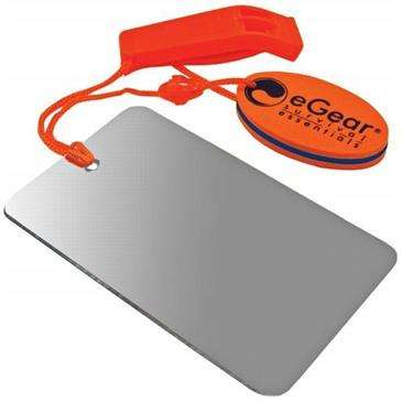 Ultimate Survival Egear Floating Whistle/Mirror Combo - Survival Tool/Emergency/Traveling/Outdoors