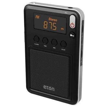 Eton  Mini Pocket Shortwave Radio - Alarm Clock, Am/Fm Radio, Digital Tuner