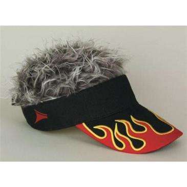 6f0117f1e05 FLAIR HAIR Flame Flair Hair W Grey - Comfortable Adjustable For Golfing