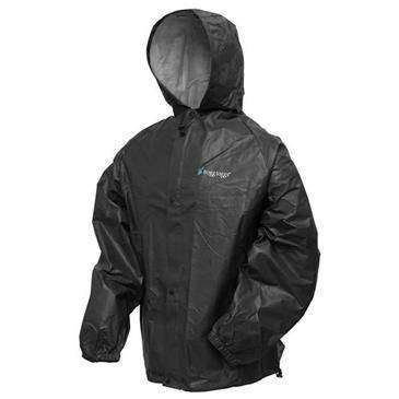 124c2b59c50b8 Frogg Toggs Black Pro Lite Rainsuit Small Medium - Fully Adjustable Hood  Design