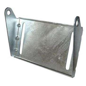 "C.E._Smith Galvanized Panel Bracket 10"" - Use With 5/8""Dia. X 6-1/4"" Roller Shaft"