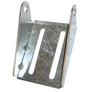 "C.E._Smith Galvanized Panel Bracket 5"" - Use With 5/8""Dia. X 6-1/4"" Roller Shaft"