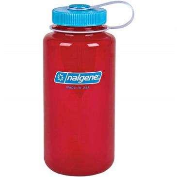 3558e63bb Nalgene Berry W/blue Lid Wide Mouth 1 Quart Water Bottle - Bpa Free ...