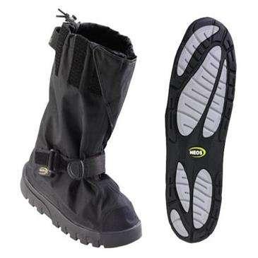 Neos Black Villager Large - All-Season Waterproof Overshoe w/160 Denier Pack