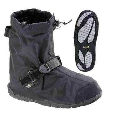 Neos Black Villager Medium - All-Season Waterproof Overshoe w/160 Denier Pack
