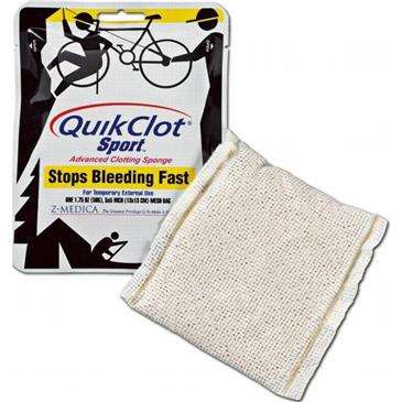 ADVENTURE MEDICAL Quikclot Sport 50 Gram Pack - First Aid/Emergency Kit, Stop Bleeding Fast