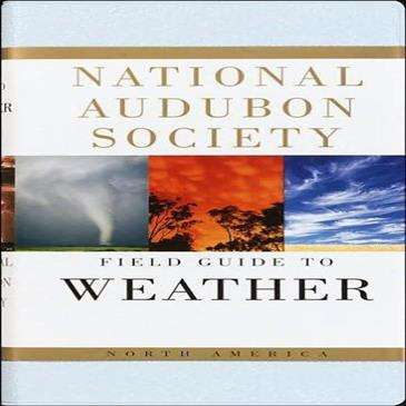 Random House Audbon Field Guide: North America Weather - llustrated w/Full Color