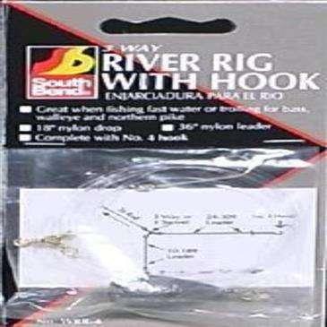 generic 3 Way River Rig W/Fishing Hook