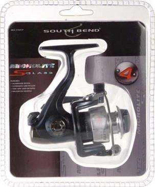 Generic South Bend Micro Lite S Class 4 Ultralight Spinning Reel - Oversized Line Roller, etc