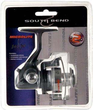 Generic South Bend Microlite Ulx Spinning Reel - Aluminum Spool, Oversized Line Roller