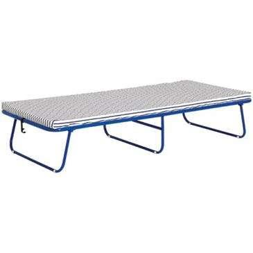 Sussi Blue Folding Bed/Cot w/2\'\' Wide Frame Foam - Comfort, 220 ...