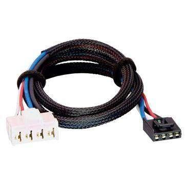 Powerwinch Tekonsha Brake Control Wiring Adapter Compatible W/2 Plug, Dodge, RAM, Chrysler