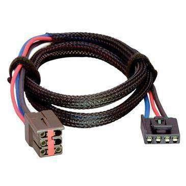 Tekonsha Brake Control Wiring Adapter Compatible W/2 Plug, Ford, Lincoln, Land R