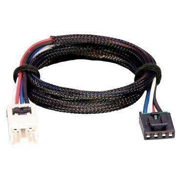 Tekonsha Brake Control Wiring Adapter Compatible W/2 Plug, Nissan, Infiniti