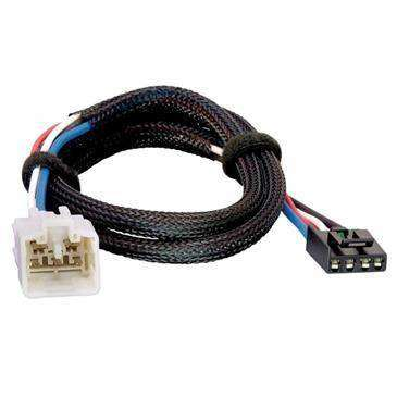 Tekonsha Brake Control Wiring Adapter Compatible W/2 Plug, Toyota, Lexus