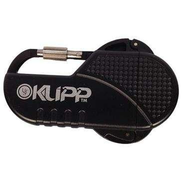 Ultimate Survival Black Klipp Lighter - High Performance, Windproof Butane