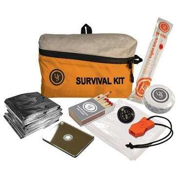 Ultimate Survival Featherlite Survival Kit 1.0 - Great For Traveling/Emergencies