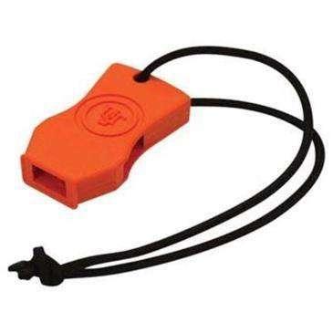 Ultimate Survival Orange Jetscream Mirco Whistle - Low Profile/Pea-Less